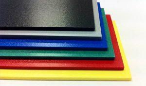 planchas pvc colores