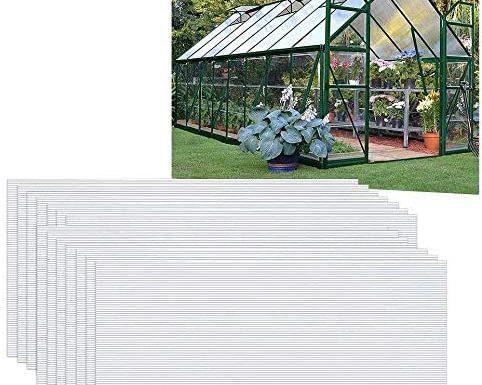 placas de policarbonato transparente
