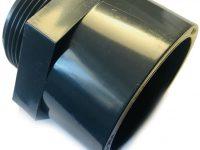 rosca de pvc-u con rosca exterior con manguito adhesivo de 32 mm